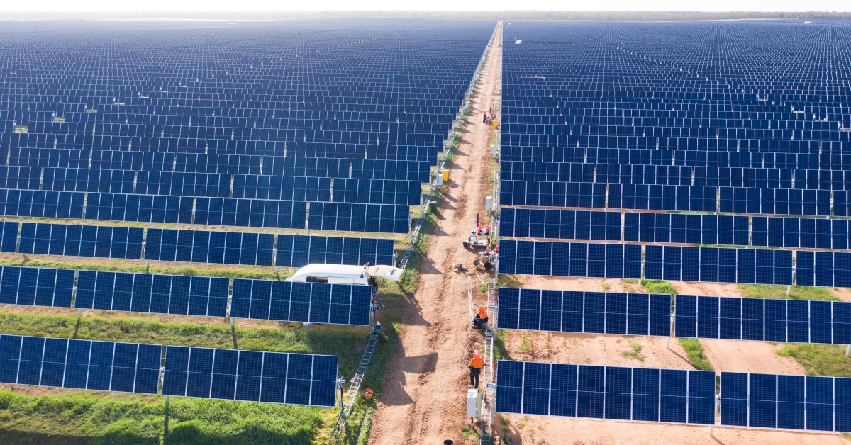 biggest solar farm in Australia